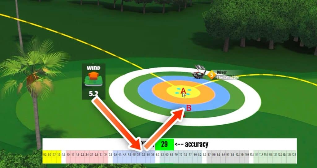 golf clash wind chart how to use it