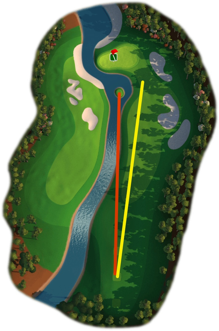 Southern Pines - Hole 9