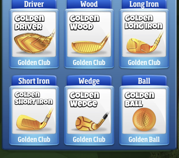 golden long iron