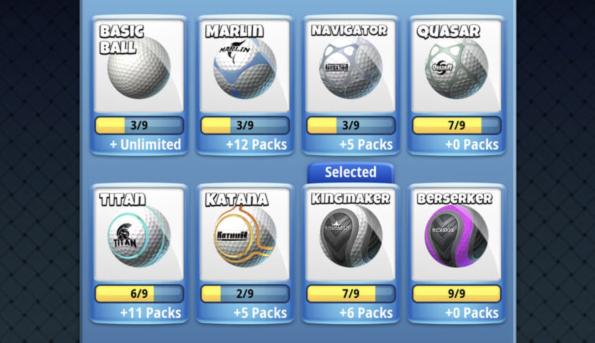 golf clash balls
