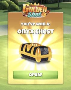 win golden shot onyx chest