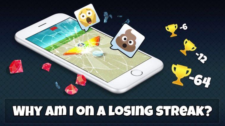 losing streak golf clash