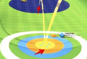golf clash golden shot february 10th santa ventura normal aiming position