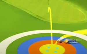golf clash safari sunrise tournament text guide acacia reserve hole 1 second shot