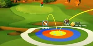 golf clash safari sunrise tournament text guide acacia reserve hole 2 second shot