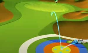 golf clash safari sunrise tournament text guide acacia reserve hole 3