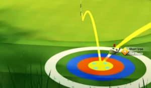 golf clash safari sunrise tournament text guide acacia reserve hole 4 second shot