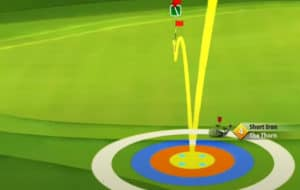 golf clash safari sunrise tournament text guide acacia reserve hole 8 second shot