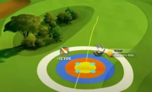 golf clash safari sunrise tournament text guide acacia reserve hole 9 drive
