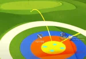 golf clash safari sunrise tournament text guide acacia reserve hole 9 second shot